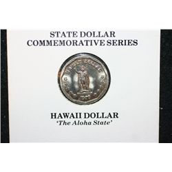 "1979 State Dollar Commerative Series-Not Legal Tender; Hawaii Dollar ""The Aloha State"""