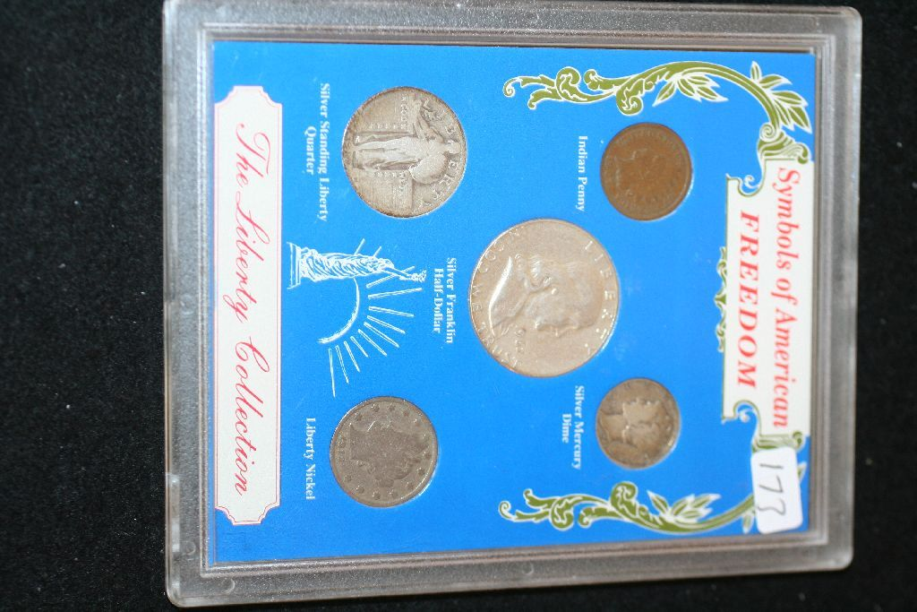 Symbols Of American Freedom The Liberty Collection Coin Set Indian
