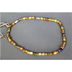 Antique Native American Indian Trade Bead Necklace (Multi Color Y…