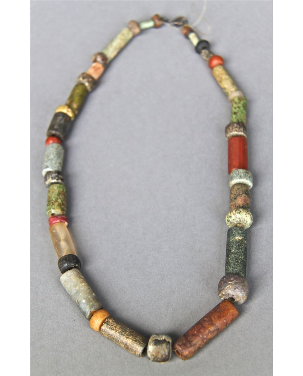 category beads necklace the archives american malouf mine native artists strand plaza turquoise mixed triple jewelry on