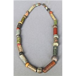 Antique Native American Indian Trade Bead Necklace (Multi Color) …