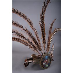 Native American Indian, Beaded Head Dress Circa 1920.  Believed t…