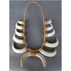 Wild Boar Tusk Necklace...
