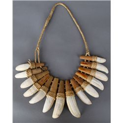 Wild Boar Tusk Necklace…