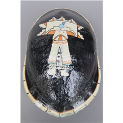 Seminole Indian Hand Painted Turtle Shell, Vintage …
