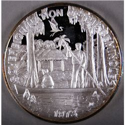 1973 Seminole Coin. Franklin Mint's Indian Tribes Proof Silver Se…