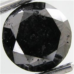 2.30ct Clean Black Diamond Oval (GEM-31115)