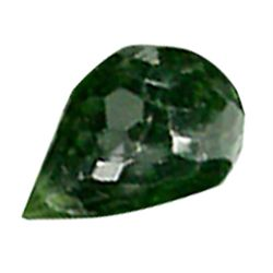 .35ct Green Chrome Tourmaline Briolette (GMR-0525A)