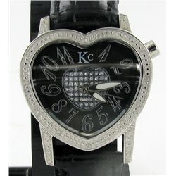 New Techno Com Diamond Bezel Ladies Watch (WAT-204)