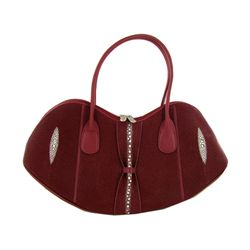 High End Ladies Stingray Handbag Purse (ACT-350)