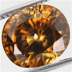6.65ct Rare Gold Champagne Zircon (GEM-35027)