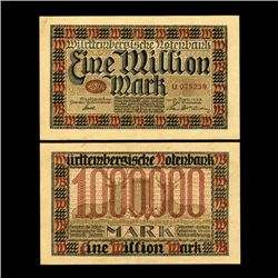 1923 Germany 10,000,000 Mark Note Better Grade (CUR-06663)