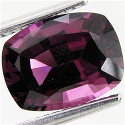 3.18ct Ceylon Natural Blue Cushion Cut Spinel (GEM-35188)