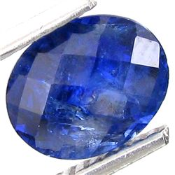 2.24ct Unheated Excellent Oval Blue Sapphire (GEM-23522)