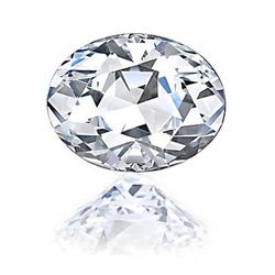 Diamond GIA Certified Oval 0.41 ctw G,VS2