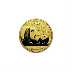 Chinese Gold Panda 20th Ounce 2011