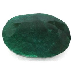 African Emerald Loose Gems 45.94ctw Oval Cut