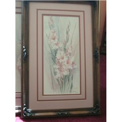 "LTD ED ARTIST SIGNED PRINT ""PASTEL REFLECTIONS"" BY BARBARA MOCK   867/1950  COA INCLUDED"