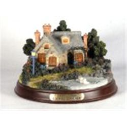 "Thomas Kinkade, Memories of Home, Lighted Cottage Collection ""Everett's Cottage""  New In Box  COA"