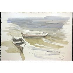 Original Watercolor on Paper by  Gordon Watson .