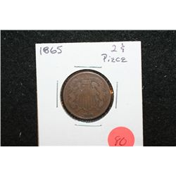 1865 Shield Two Cents Piece