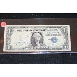 1935-E US Silver Certificate $1; Blue Seal