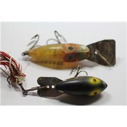 "3 3/4"" L & S Master35 & 3 3/4"" Unmarked lure"