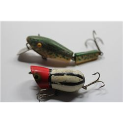 "3 1/2"" Millsite Deep Creep 500TD & Unmarked lure"