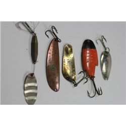"2 1/2"" to 1 1.4"" Misc. lures"