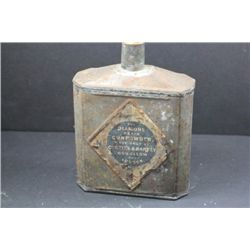 Antique Curtiss & Harvey, Hollnslow, London Powder tin-Empty