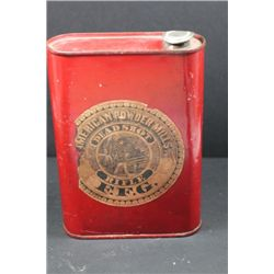 Antique American Powder Mills Tin-Empty