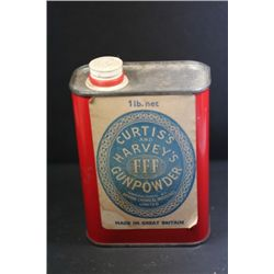 Vintage Curtis & Harvey Powder Tin-Empty
