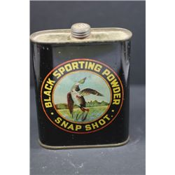 Black Sporting powder Tin-Empty