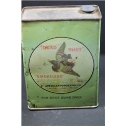 American Powder Co. Tin -Empty