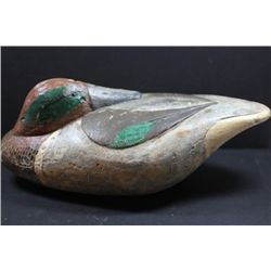 Drake Resting Teal Decoy