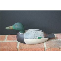 Ed Smith Carved Duck Decoy, Chester, Illinois