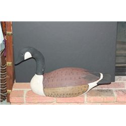 Ed Smith Carved Goose Decoy, Chester, Illinois