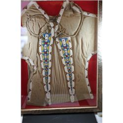 Nice Northern Plains Indian Brain Cured Beaded Vest