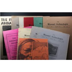 Archeologist Books form Missouri & Catalogue