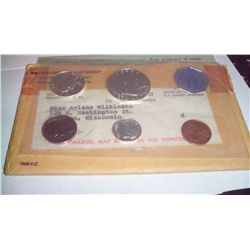 1960-P SILVER PROOF SET, 90% SILVER COINS