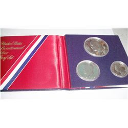 Bicentennial Uncirculated Silver set