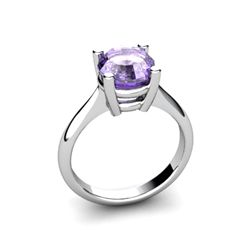 Tanzanite 2.50ctw Ring 14kt White Gold