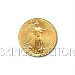 One-Tenth Ounce 2007 US American Gold Eagle Uncirculate