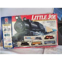 Little Joe N Scale Electric Train Set Opened but new in Box