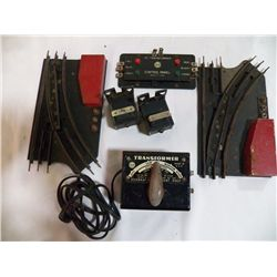 Louis Mark Train Accessories 1-Transformer, 1-Contro Panel, 2, Switches, 2  Switch Tracks all made b