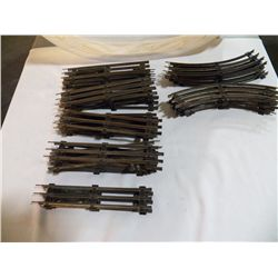 33 Pcs. Standard Gauge Track for Mark Co. 23 Pcs. Straight Track & 10 Pcs. Curved