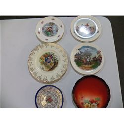 "Misc. Lot of China 1- 8"" 1928-1978 50th anniversary Fire  department Green Brook NJ., 1- 6""O.P.Co."