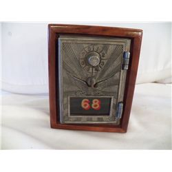 "#68 Safe Peggy Bank 5"" wide x 6"" Tall"