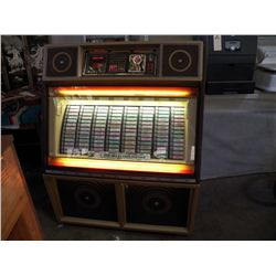Rowe AMI 200 Selection Jukebox 100 records in Jukebox (not working) Lights  up but does not play?