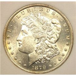 1879 S BU Morgan Dollar